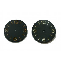 Resin 3646 Three Piece Dial -  with internal Plexi